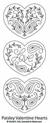 Paper Embroidery Patterns NEW Pattern Set and SAL! - About Embroidery - Learn about different kinds of embroidery stitches, floss and techniques. Additionally, get free patterns for your next project. Paper Embroidery, Hand Embroidery Patterns, Cross Stitch Embroidery, Machine Embroidery, Embroidery Designs, Embroidery Hearts, Modern Embroidery, Paisley Embroidery, Advanced Embroidery