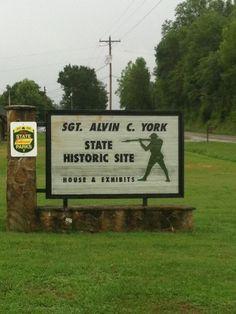 SGT. ALVIN C. YORK STATE HISTORIC SITE PALL MALL, TN.