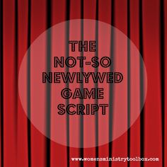 a twist on the popular game show the not so newlywed game is great