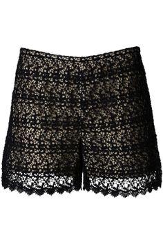 E. The Lace Shorts