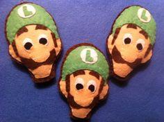 Felt Luigi ornaments