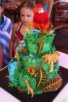 Rainforest cake