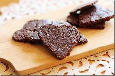 raw dark chocolate cherry cookies