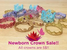 DESTASH SALE +50% off Lace Crowns by JuliesElegantCrafts. Hurry buy now before they're gone!!