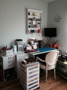 Newly organized Scrap room! - Scrapbook.com
