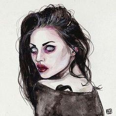 Frances Cobain/Art By Lucas David