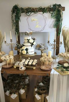 This Is Officially The Cheapest, Most Gorgeous Way To Decorate A Wedding BeyazBegonvil: Organizasyonlarda Rustic Dekorasyon Modası Baby Shower, Bridal Shower, Coffee Desk, Diy Party Decorations, Engagement Decorations, Home Furnishings, Marriage, Birthday Parties, Candles