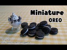 개곰돌의 미니어쳐 ★ 오레오 만들기 (OREO miniature) - YouTube