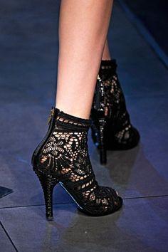 Sapato rendado Dolce & Gabbana