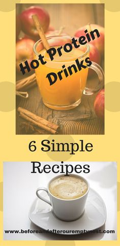 I don't always want a cold protein drink when it's freezing outside. Click through for 6 easy to make hot protein drinks. Protein Foods, Protein Recipes, High Protein, Jicama Recipe, Protein Coffee, Holistic Approach To Health, Gingerbread Latte, Hot Apple Cider, Chocolate Protein Powder