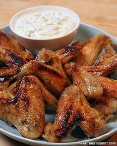 Super Bowl Wings // Saffron Chicken Wings Recipe