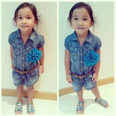 Denim Love!  #denim #fashion #toddler #style