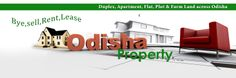 www.odisha-property.com provides details of houses, #flats, plots, farm lands and other #properties_for_sale or rent in Odisha.