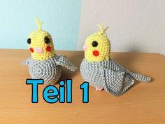Pet Birds, Mini, Crochet Hats, Christmas Ornaments, Holiday Decor, Youtube, Bees, Animals, Amigurumi
