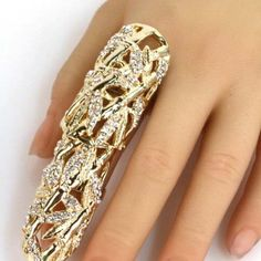 Long Finger Ring