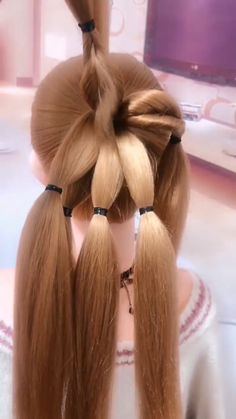 Today we are going to create another easy and elegant updo First, my hair is str. - - Today we are going to create another easy and elegant updo First, my hair is straight today, I'm gonna tease Braided Hairstyles, Cool Hairstyles, Hair Upstyles, Elegant Updo, Little Girl Hairstyles, Hair Videos, My Hair, Curly Hair Styles, Hair Makeup