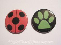 Magical Girl Miraculous Ladybug & Cat Noir by MagicalMacGuffins