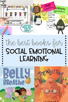 Social emotional learning is a foundational topic to teach in any elementary classroom. I love using read-alouds to teach social emotional skills in my classroom! Here I am sharing interactive social emotional texts, lessons, and mental health digital resources that are perfect for kindergarten all the way to sixth grade!