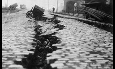 1948 Ashgabat Earthquake Ashgabat, Iran (Turkmen SSR)  Casualties: 110,000 - 176,000  Not much is known about the quake, nor are many photos available, as the Soviet Union censored such disasters in its records. What does remain shows a catastrophic scene. Imagine the earth splitting open in front of you, as in the picture above. It's been calculated that this earthquake is the 12th worst of all time. Casualties are estimated to be above 100,000, which was about 10% of the country's populat