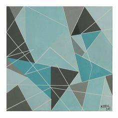 TRIGO NUM 13, 30 x 30 cm akryl #art #painting