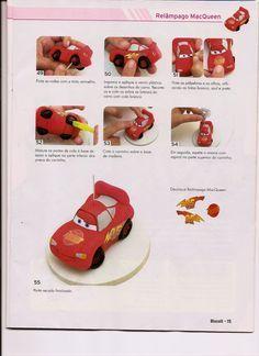 ARTESANATOS PASSO A PASSO: biscuit carros (Macqueen)
