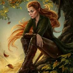 Absolutely love this drawing of tauriel