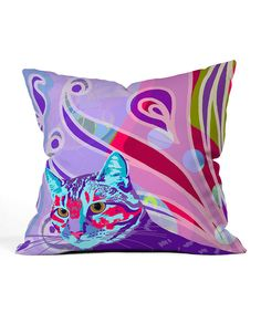 Look at this Jungle Dreams Throw Pillow on #zulily today!