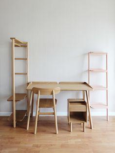 Robin desk Designed for KILTT, 2015
