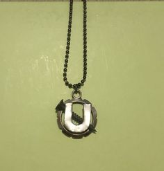 8b29dc78d41c Items similar to Screw U necklace on Etsy