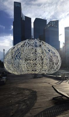 Urchins. THE URCHINS 2017  Marina Bay, Singapore  Design: Jin Choi and Thomas Shine  Steel Fabrication : Modern Metal Solutions