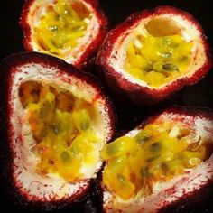 Is there anything better than cracking open a juicy passionfruit? You can taste that sweet tangy flavour just by looking at this stunning shot from @andylown #tasty #healthy #passionfruit #fruit #inseason #yum #freshproduce #horticulture #ausag #supportfarmers #farmfresh #delish #aussiepassionfruit by aussiepassionfruit
