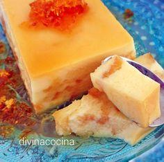 Pudding de magdalenas y leche condensada divinacocina