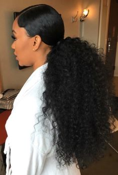 95 Inspirational Black Ponytail Hairstyles In Afro Ponytail Hairstyles for Black Women, 30 Stunning Ponytail Hairstyles for Black Women Secret Of, 20 Stunning Ponytail Hairstyles and Haircuts for Black Hair, Black Ponytail Hairstyles Black Haircut. Hair Ponytail Styles, Natural Hair Ponytail, Curly Hair Styles, Weave Ponytail Hairstyles, Short Hair Styles Easy, Sleek Ponytail, Easy Hairstyles For Long Hair, Medium Hair Styles, Curly Ponytail Weave