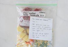 Slow cooker dinner kit
