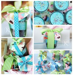 Loving Cupcakes in a Jar!