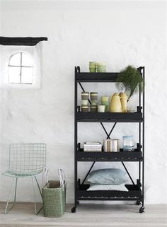 Shelf metal & wood