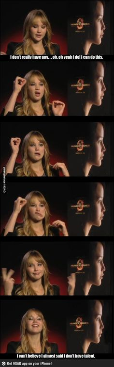 jennifer lawrence has a hidden talent