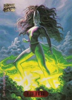 Marvel Masterpeices, Lilith, by Greg and Tim Hildebrandt