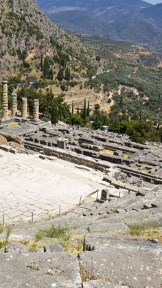 Ancient Delphi Theater,  Greece