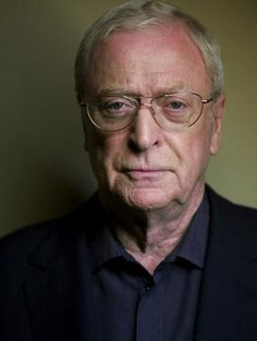 """Michael Caine--what a great actor! Loved him in """"Cider House Rules""""."""