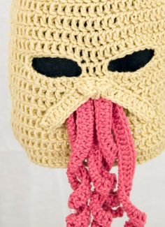 """How Ood...""      Ood Ski Mask Hat send size choice baby  adult by GeekinOut on Etsy, $40.00"