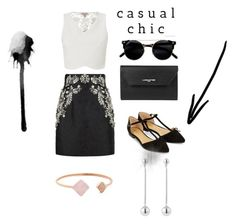 """""""Casual chic!"""" by pourmoiettoi on Polyvore featuring mode, Dolce&Gabbana, Lipsy, Accessorize, Lancaster en Michael Kors"""