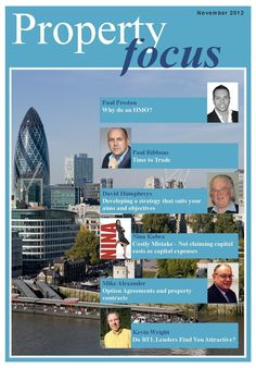"November 2012 issue of ""Property Focus"" http://www.easypropertysolutions.co.uk/newsletter/EPS Nov 12.pdf"