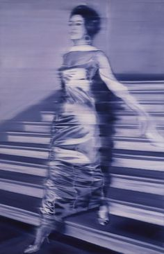 "Gerhard Richter's ""Woman Descending the Staircase,"" 1965"
