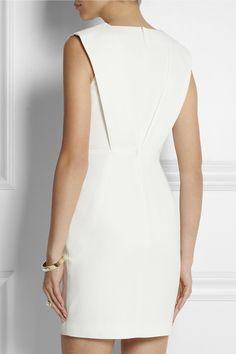 Saint Laurent- Crepe mini dress