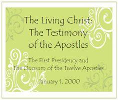 The Living Christ Challenge:  Broken down into 12 month for memorization.  Our entire stake girls camp memorized this and it was an incredible experience for leaders and girls alike.  Well worth the effort!