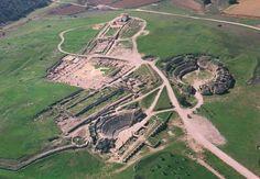 Parque Arqueológico Segóbriga, Cuenca, España. (Vista Aérea) LA RED DE PARQUES ARQUEOLÓGICOS DE CASTILLA-LA MANCHA |