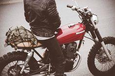 Honda CM125 #scrambler discover #motomood