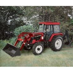 - NorTrac 82XT 82 HP 4WD Tractor with Front End Loader & Backhoe - with Ag. Tires by NorTrac, http://www.amazon.com/dp/B0046AQJ78/ref=cm_sw_r_pi_dp_Flgkqb1W6Z3DM