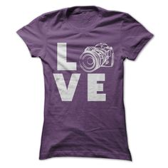 Do you love photography??!! Tell the world with this fun shirt.  Exclusive Design - Not Available in Stores